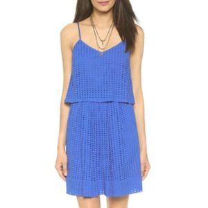 Madewell Eyelet Cami Overlay Dress Sz 0
